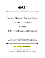 October 25, 2012 - Graduate Student Union - University of Notre Dame