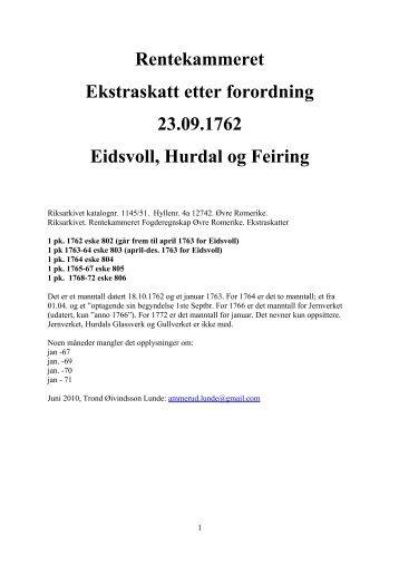 av- og tilgang flyttede 1762-72 - DIS-Norge