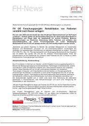 20120227_FH-News.pdf - Gesundheits-Cluster