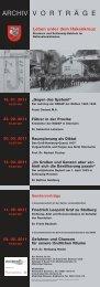 weitere Informationen im Flyer - Kreisarchiv Stormarn