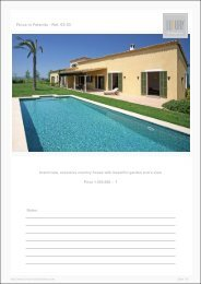 Finca in Felanitx - Ref. 03-03 - Luxury Holidayhomes on Mallorca