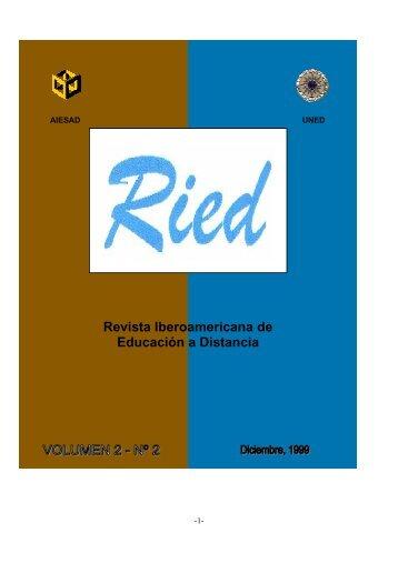 Revista Iberoamericana de Educación a Distancia - Universidad ...