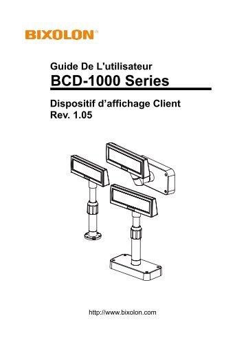 BCD-1000 Series - BIXOLON