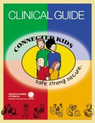 Connected Kids - Clinical Guide - American Academy of Pediatrics