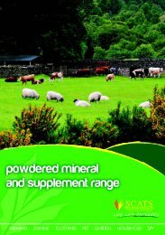 powdered mineral and supplement range - SCATS Countrystores