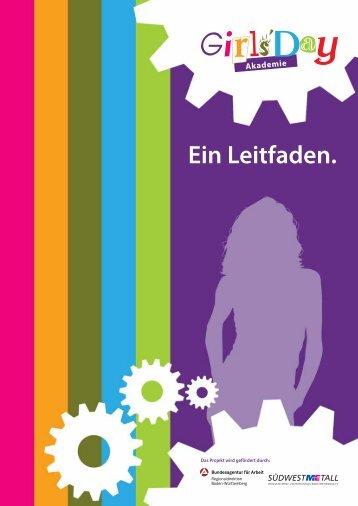 girls´day akademie.pdf - Bundesagentur für Arbeit