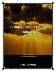 LA BIBLIA ESTÁ LLENA DE ERRORES