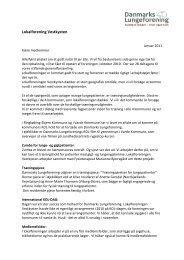 Torsdag den 27 - Danmarks Lungeforening