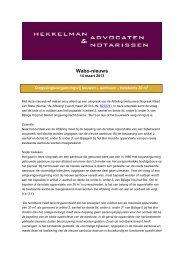 Vergunningvrij bouwen - Hekkelman Advocaten & Notarissen