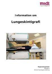 Lungeskintigrafi - Regionshospitalet Randers