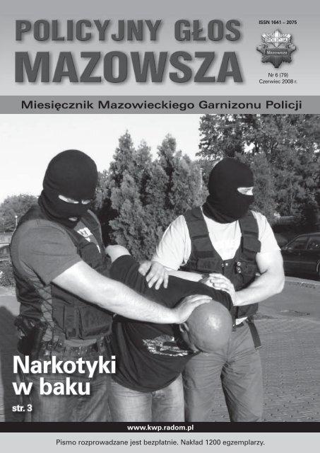 Narkotyki W Baku Mazowiecka Komenda Wojewódzka Policji Z