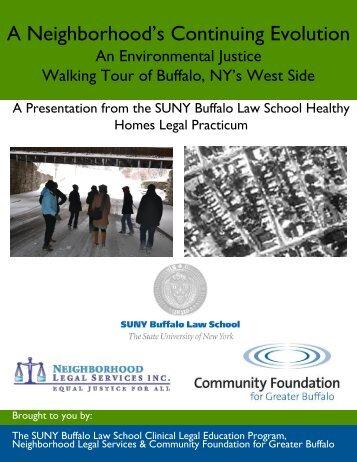 A Neighborhood's Continuing Evolution - SUNY Buffalo Law School
