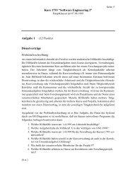 "Kurs 1793 ""Software Engineering I"" Aufgabe 1 (12 Punkte ..."
