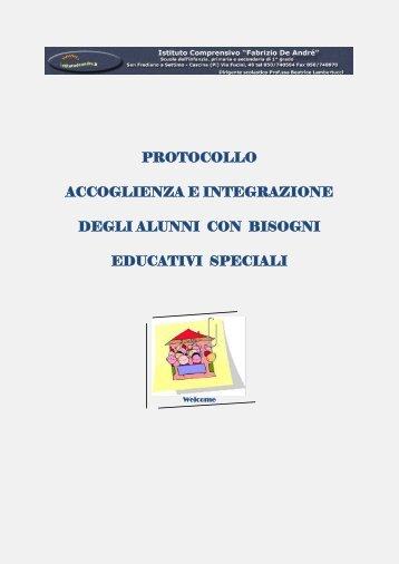 protocollo accoglienza e integrazione degli alunni con bisogni ...