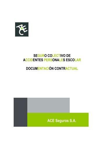 Condiciones Generales Colectivo AP Escolar - ACE Group