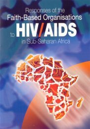 Responses of the Faith-Based Organisations to HIV AIDS in Sub ...