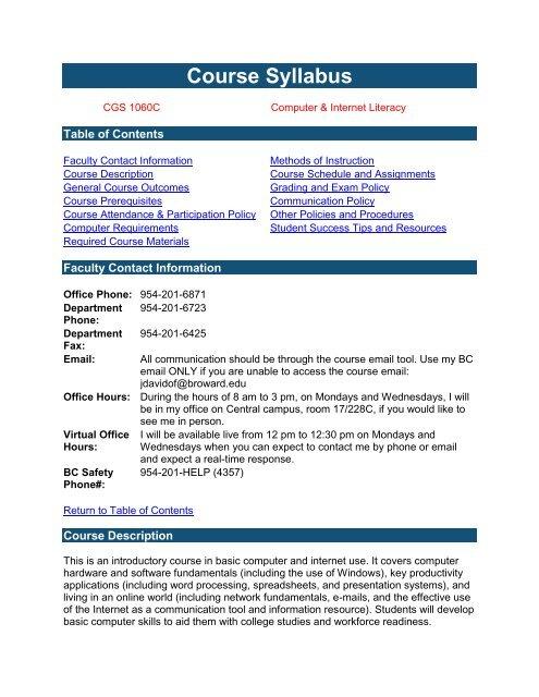 Course Syllabus Template from img.yumpu.com