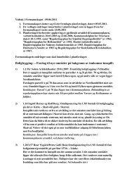 Formannskapets vedtak 9. juni ... - Stjørdal kommune