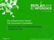 Alexander Werner - LibreOffice Conference