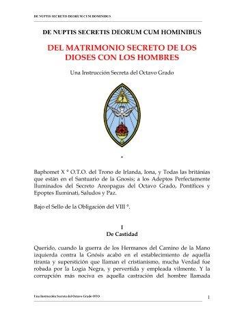 Oto - Del Matrimonio Secreto De Los Dioses Con Los Hombres.PDF