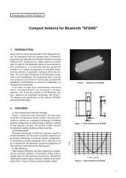 Compact Antenna for Bluetooth