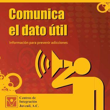 Comunica el dato útil - Centros de Integración Juvenil