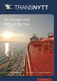 On voyage with Ship of the Year - Seatrans