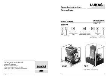 Operating Instructions Rescue Tools Accu-tool LKE 50 / LKE
