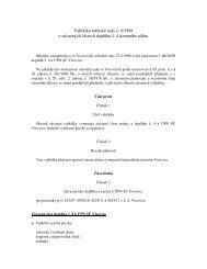 Vyhláška 8/1998 o závazných částech doplňku č. 4 ... - Vizovice
