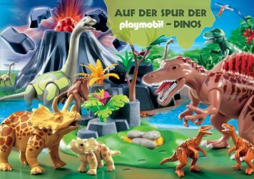PLAYMOBIL Dino Booklet