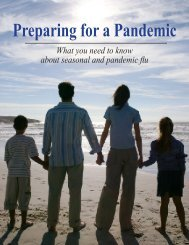 Preparing for a Pandemic - Mid-Michigan District Health Department