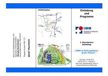 Einladung und Programm - DLRG Ludwigshafen