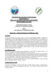Fiume Po - Torino Domenica 13 febbraio 2011