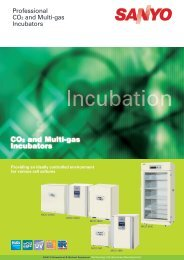 Professional CO2 and Multi-gas Incubators
