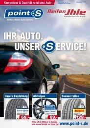 IHR AUTO. UNSER ERVICE! - Reifen Ihle GmbH
