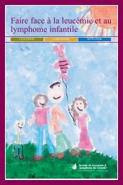 Faire face à la leucémie et au lymphome infantile - The Leukemia ...