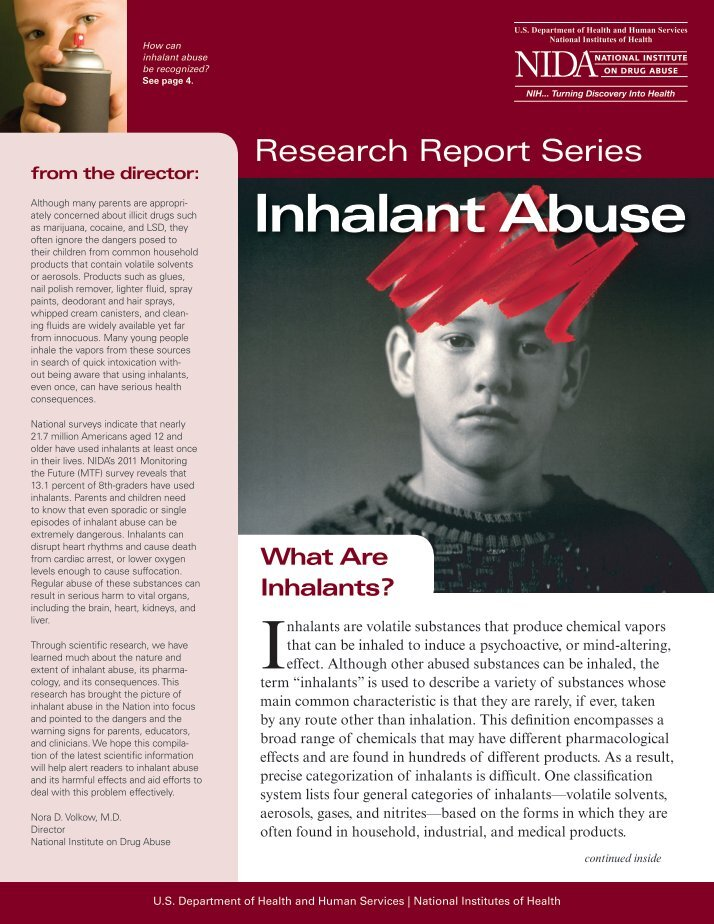 dangers and misconceptions of inhalant abuse Gateway drugs are substances that can often lead to harder, more dangerous drugs find out what evidence supports the gateway drug theory find examples of supposed gateway drugs and ways to prevent alcohol and drug abuse.