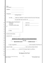 Report of the Guardian of a Minor Person - Supreme Court of ...