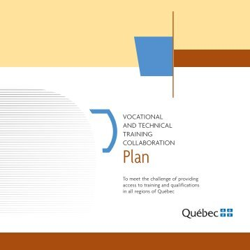 MELS_Brochure formProfENG - Ministère de l'Éducation, du Loisir et ...