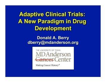 Adaptive Clinical Trials: A New Paradigm in Drug Development