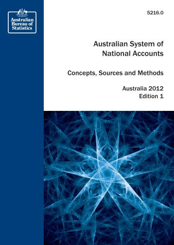 Australian System of National Accounts - Ens