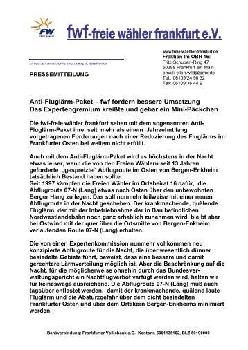 Ansehen - Freie Wähler Frankfurt