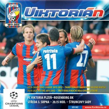 "Lerkendalem znělo ""Viktorka do toho"" - FC VIKTORIA Plzeň"
