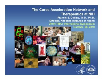 The Cures Acceleration Network and Therapeutics at NIH