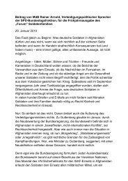 Rainer Arnold zur Rechtssicherheit deutscher Soldaten beim ...
