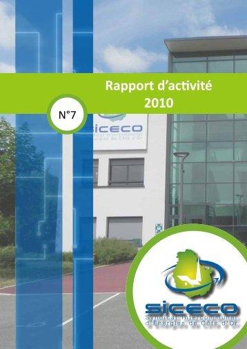 Rapport d'activité 2010 - Mot de passe…