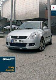 akcesoria swift-2008 - Suzuki Motor Poland