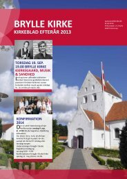 Efterår 2013 - Brylle Kirke