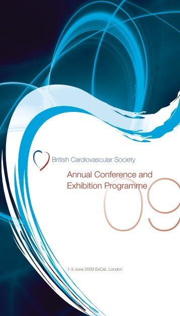 BCS Annual Conference Programme 2009 - British Cardiovascular ...