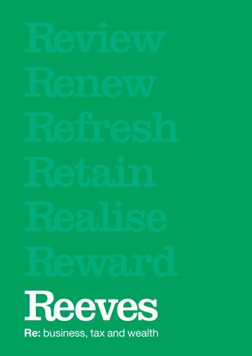 Download Reeves Corporate Brochure
